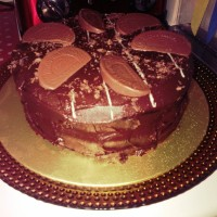 Terry's Chocolate Orange Fudge Cake